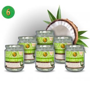 Coconut Oil Centrifugal Separation - 6 pieces (ORGANIC)