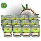 Coconut Oil Centrifugal Separation - 12 pieces (Thailand, ORGANIC)