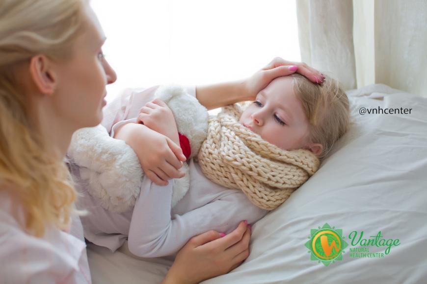 Как вылечить ребенка от гриппа?